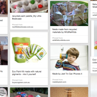 September's Pinterest board: Eco fun for kids