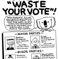 Election Special: Voting for a lesser party is not a waste of your vote