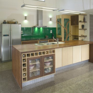 Green kitchen makeovers