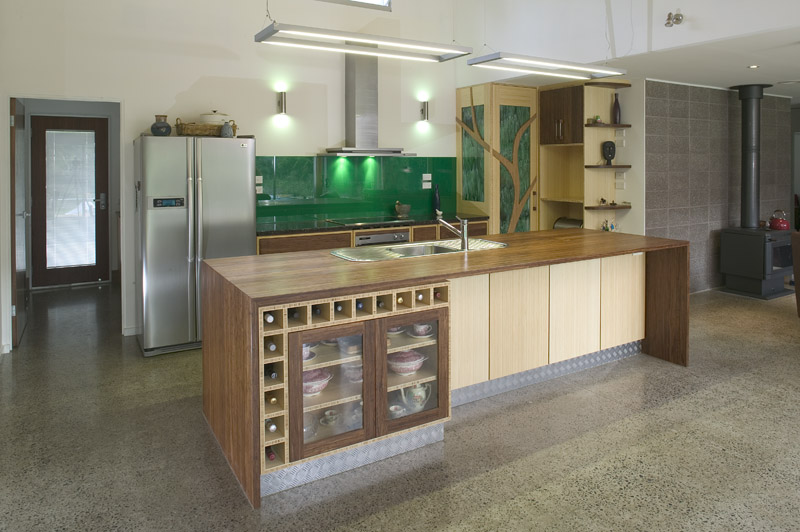 Green kitchen makeovers down to earth mother for Green kitchen cabinets for eco friendly homeowners