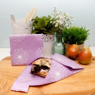 Safe, eco-friendly and resuable food wraps