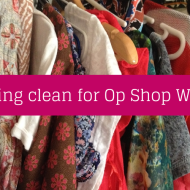 Celebrate National Op Shop Week with a spring clean!