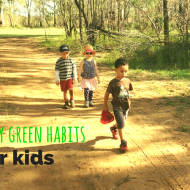Encouraging green habits in kids