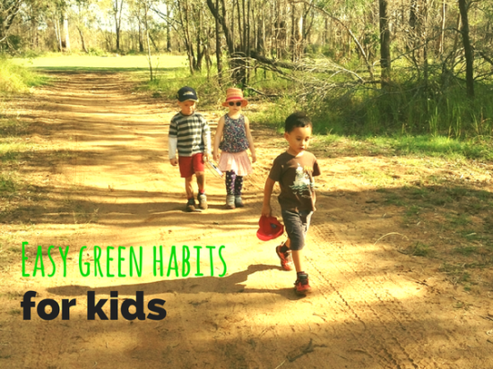 green habits for kids