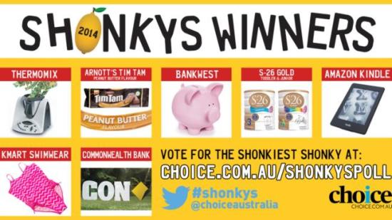 Choice Shonky Awards