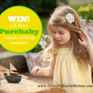 Organic cotton is better for bubs plus a $300 Purebaby giveaway!