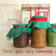 Three quick, easy homemade gifts