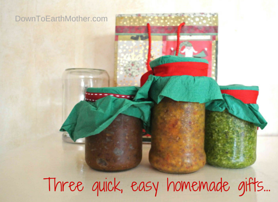 quick easy homemade gifts