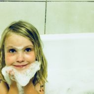 """That time I said """"yes"""" to bubble bath"""